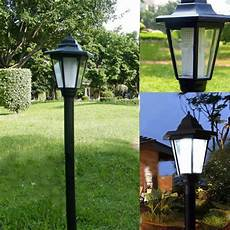 auto outdoor garden led solar power path cited lights landscape l lawn ebay