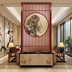 2019 Decorating Bedroom Glass Folding Screen Wall