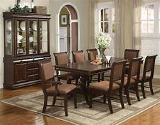 merlot 7 piece formal dining room set table 4 side chairs