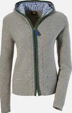 strickjacken mit kapuze damen strickjacke mit kapuze hammerschmid grau in 2019