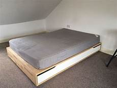 ikea king size mandal bed frame with storage in n5