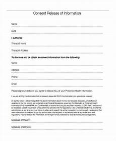 free 18 sle general release of information forms pdf