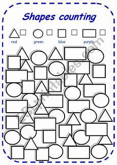 esl worksheets shapes 1099 shapes counting esl worksheet by esti1975