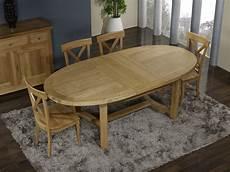 table ovale avec rallonge chene massif table de ferme ovale tom en ch 234 ne massif de style