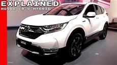 Honda Cr V Hybrid 2018 - 2018 honda cr v hybrid prototype explained