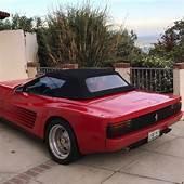 Ferrari Testarossa Replica Kit Car Convertible