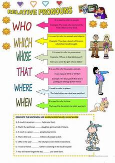 relative pronouns worksheet free esl printable worksheets made by teachers