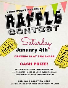 Raffle Ticket Fundraiser Flyer Poster Raffle Flyer Poster Social Media Post Template