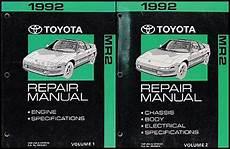 auto repair manual online 1995 toyota mr2 regenerative braking 1992 toyota mr2 wiring diagram manual original