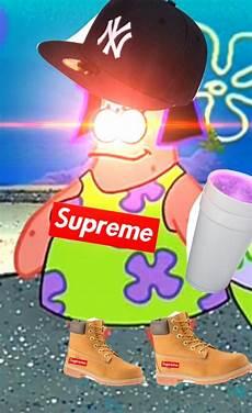 supreme spongebob wallpaper meme pfp spongebob supreme leantimbs freetoedit