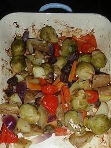 Ofengemüse Mit Kartoffeln - ofengem 252 se mit kartoffeln rezept mit bild