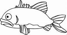trauriger fisch ausmalbild malvorlage comics