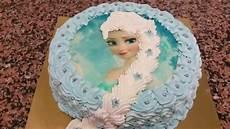 gateau reine des neiges reine des neiges gateau karlar kralicesi temalı pasta yapımı hd