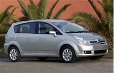 Toyota Corolla Verso 2006 Wheel Tire Sizes Pcd