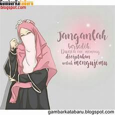 Gambar Kartun Muslimah Hijrah Kolek Gambar