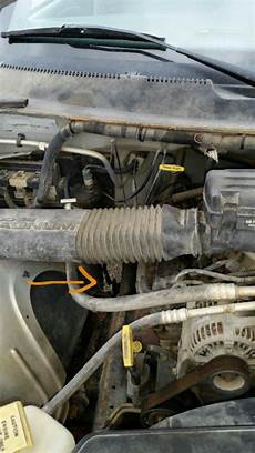 small engine maintenance and repair 2000 dodge ram van 1500 electronic throttle control dodge ram 1500 questions help what does this hose go to cargurus