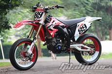 Jupiter Mx Modif Supermoto by Modifikasi Yamaha Jupiter Mx Kawin Silang Dengan Honda