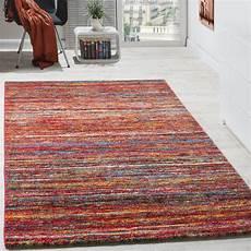 tappeti moderni offerte tappeto moderno soggiorno screziato speciale colori rosso