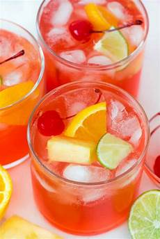 fruity vodka party punch for crust