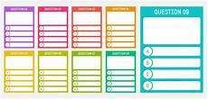 quiz card templates paperzip