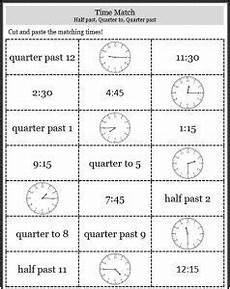 time worksheet quarter and half 3157 telling time worksheets o clock half past quarter to easyteaching net