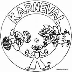 fasching mandala im kidsweb de