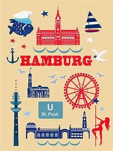Malvorlagen Zum Drucken Hamburg Quot Hamburg Icons Quot By Elisandra Sevenstar Hamburg