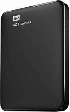 disque dur externe compatible ps4 western digital elements portable 1tb black wdbuzg0010bbk