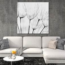 tableau deco blanc tableau d 233 co fleurs sauvages noir et blanc