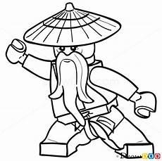 lego ninjago ausmalbilder sensei wu how to draw sensei wu lego ninjago mit bildern