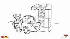 lego 174 duplo 174 cars 3 tow mater coloring page lego