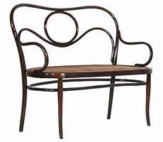 divanetto thonet antico divano panca seduta thonet in faggio curvato paglia