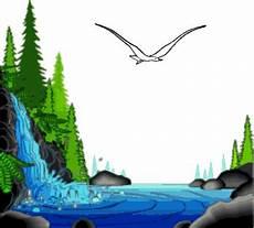 Air Terjun Gif Gambar Animasi Animasi Bergerak 100