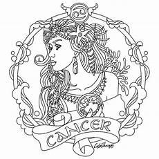 constellation of taurus worksheet cancer zodiac colouring page peinture porcelaine
