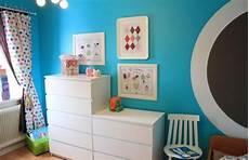 Wandfarben Ideen Kinderzimmer Junge Himmelsblau Wei 223 E