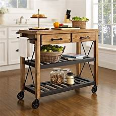 kitchen islands and carts furniture roots rack industrial kitchen cart crosley
