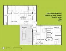 mies van der rohe house plans sixtensason ludwig mies van der rohe mccormick house