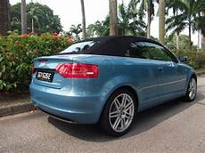 audi a3 cabriolet gebraucht used audi a3 cabriolet s line for sale in singapore rear
