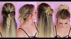 7 coiffures faciles tuto