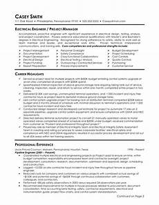 electrical engineer resume sle 2019 resume