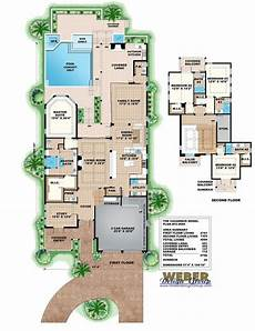 waterfront narrow lot house plans beach house plan west indies waterfront style home floor