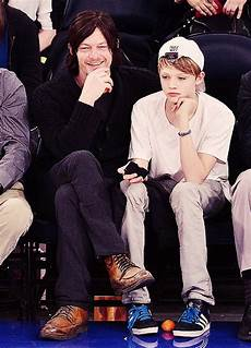 Norman Reedus Sohn - norman norman reedus and sons on