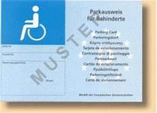parkausweis für behinderte unbefristet ausweis 17 news b 252 rgerreportern zum thema