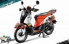 Modifikasi Motor Fino Standar by 250 Modifikasi Motor Matic Terkeren 2019 Honda Yamaha