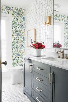 a colorful oasis bathroom makeover lushes curtains blog