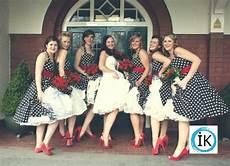 robes demoiselles honneur mariage deco annee 50 americaine