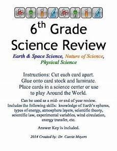 science review worksheets 6th grade 12383 6th grade science review task cards by meyers maties in 6th grade