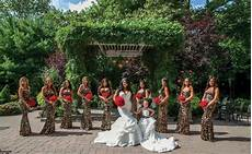 tracy dimarco s jerseylicious wedding at nanina s in the park bridesmaids leopard wedding