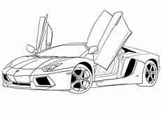 Ausmalbilder Lustige Autos Malvorlagen Autos Lamborghini Ausmalbilder