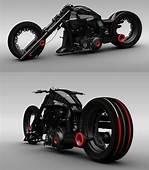 Sci Fi Motorcycle Futuristic Cyber 3d Design Cyperpunk